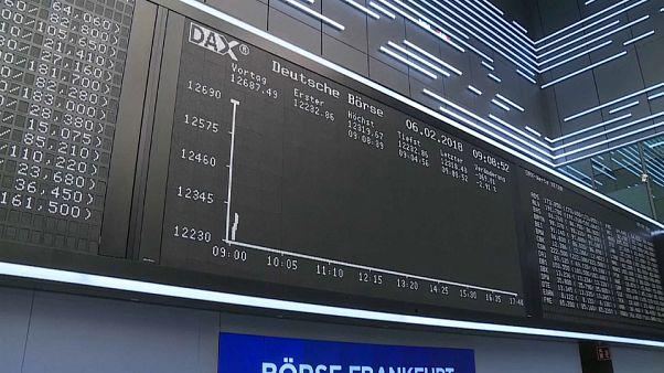Mercados europeus acompanham queda de Wall Street
