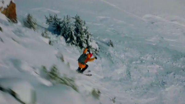 """Mundial de """"freeride"""" de inverno arrancou no Canadá"""