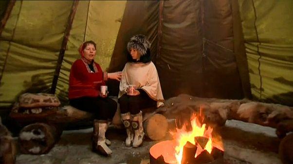 قوم سامی و جشن سنتی در قطب شمال