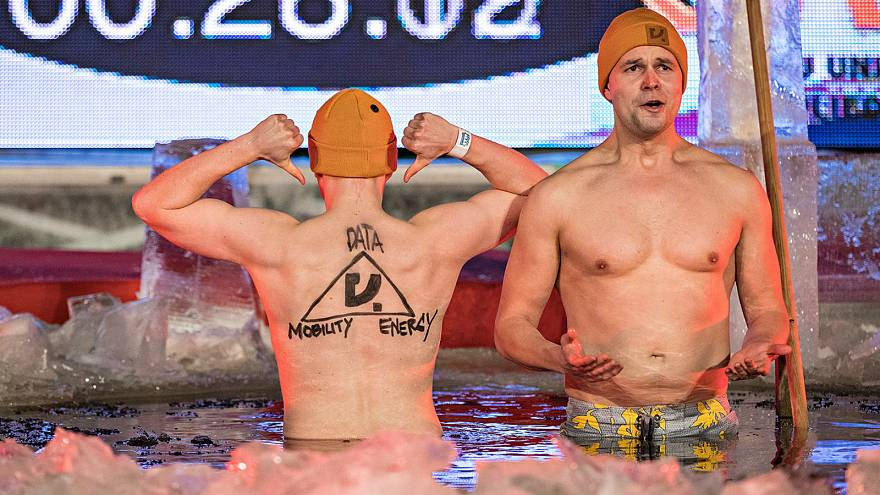 Pitching ideas in freezing water: Finland's eccentric answer to Dragon's Den