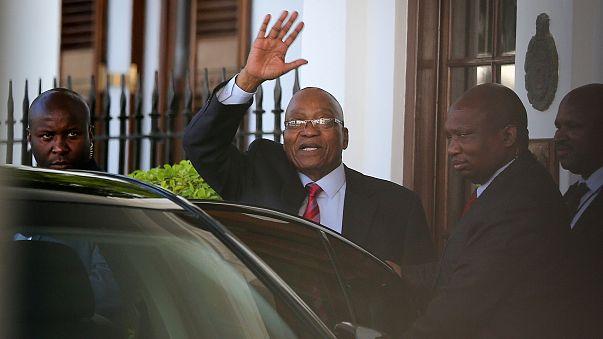 Zuma on the brink as presidential speech is postponed