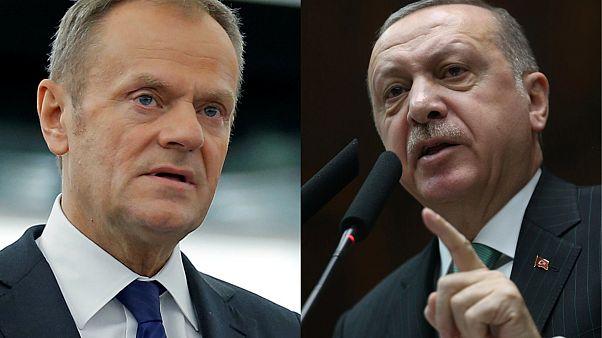 Συνάντηση Τουσκ - Ερντογάν για σχέσεις ΕΕ-Τουρκίας