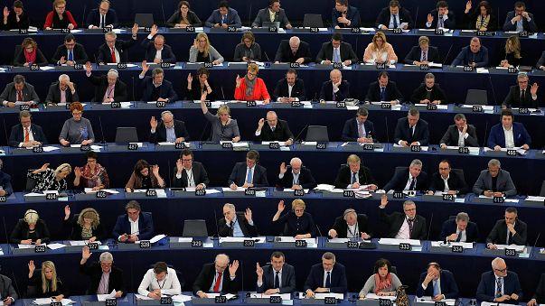 Vote en session plénière du Parlement européen