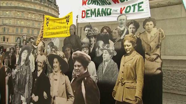 Britain to consider pardoning suffragettes