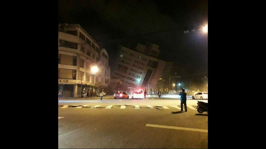 Tayvan'da 6,4 büyüklüğünde deprem: Ölü ve yaralılar var