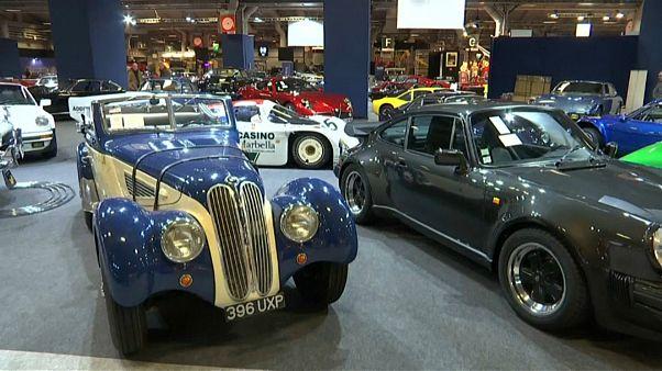 نمایش خودروهای قدیمی در پاریس