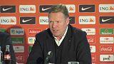 Ronald Koeman va a dirigir a la selección holandesa de fútbol