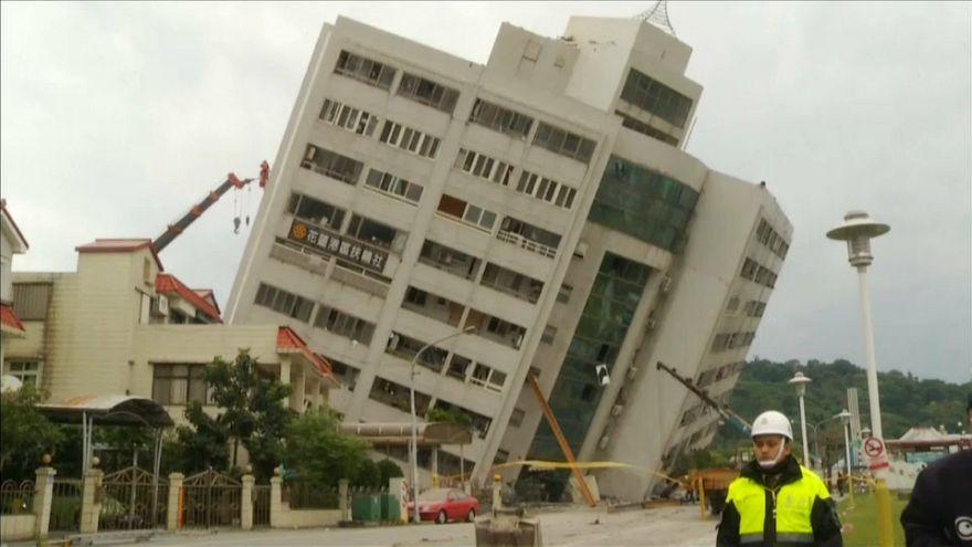 شاهد: كيف أصبح فندق في تايوان بعد الزلزال المدمر الذي أودى بحياة 5 أشخاص