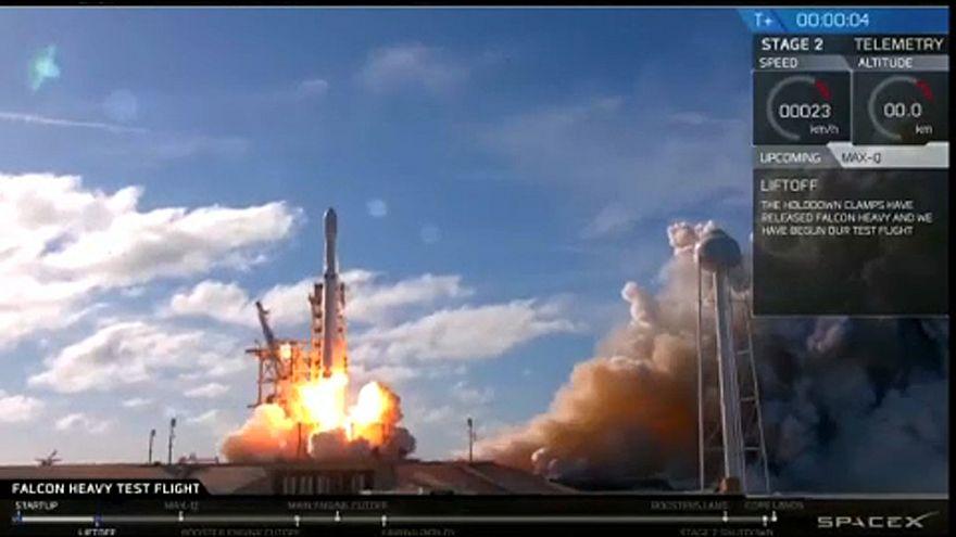 A SpaceX elképesztő sikere