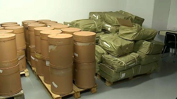 Judiciária apreende 4,5 toneladas de material utilizado para fazer droga