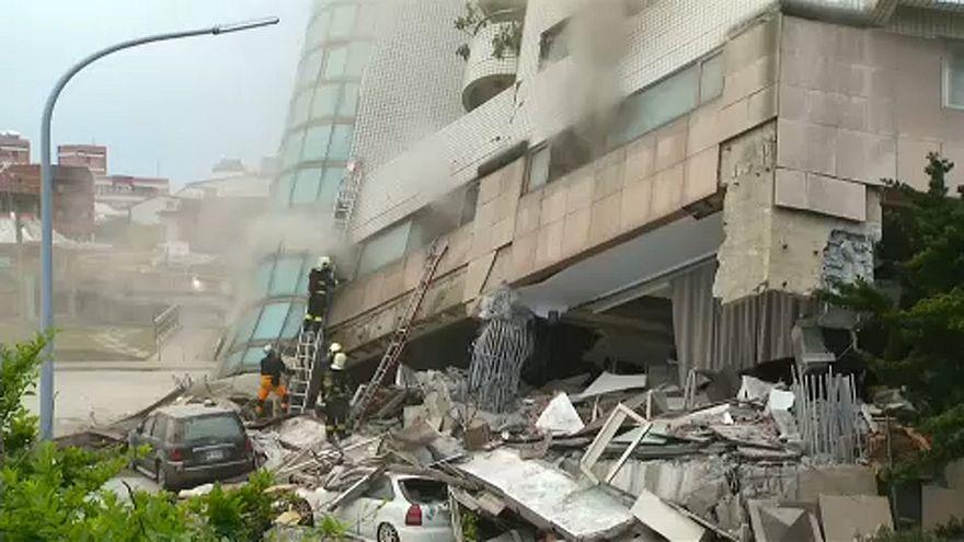 Tajvani földrengés: Halálos áldozatok