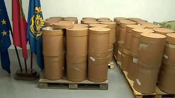 Portekiz'de 4.5 ton uyuşturucu madde ele geçirildi