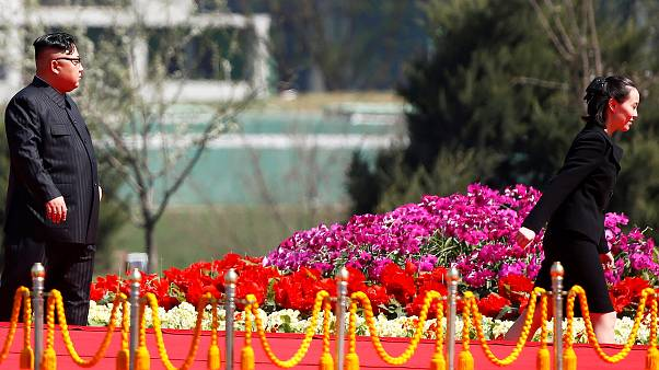 شقيقة زعيم كوريا الشمالية تزور الجنوبية