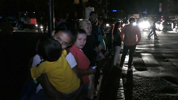Un apagón provoca el caos en Caracas en plena hora punta