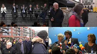 Puigdemont's 100 days of attitude