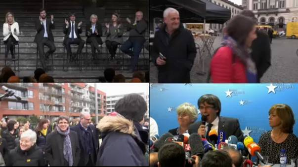 Puigdemont's 100 days of attitude