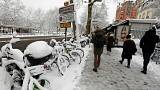 بارش سنگین برف در پاریس رکورد ترافیک را شکست