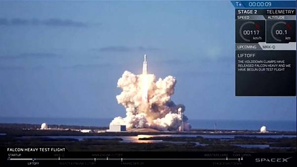 Billionaire Musk successfully launches world's largest rocket