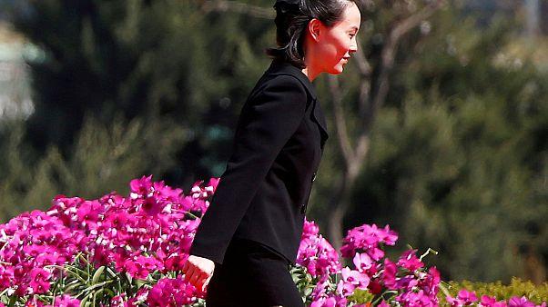 JO-2018 : La sœur de Kim-Jong Un passe au Sud
