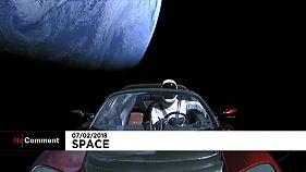 Space X : lancement de la plus puissante fusée du monde