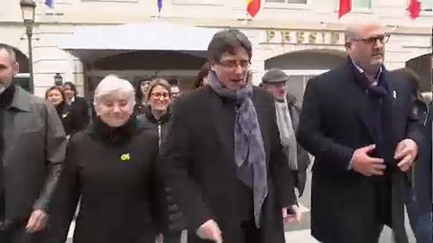 I primi 100 giorni in Belgio di Carles Puidgemont
