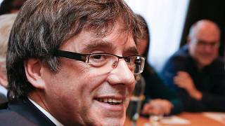 Le responsable catalan Carles Puigdemont