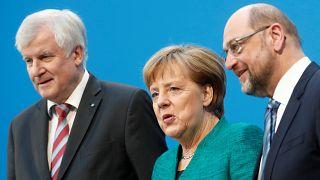 Merkel mais perto de conseguir governo de coligação