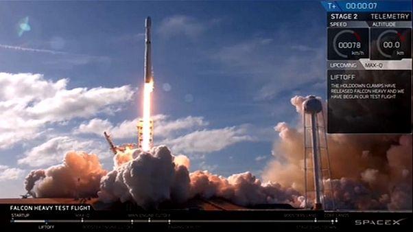 Falcon Heavy hace historia