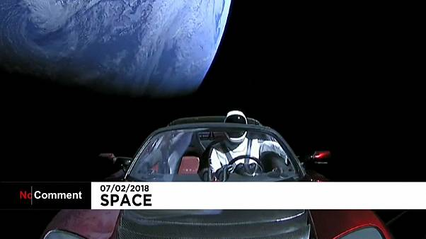 """Starman"" in Tesla roadster set for a voyage of discovery"