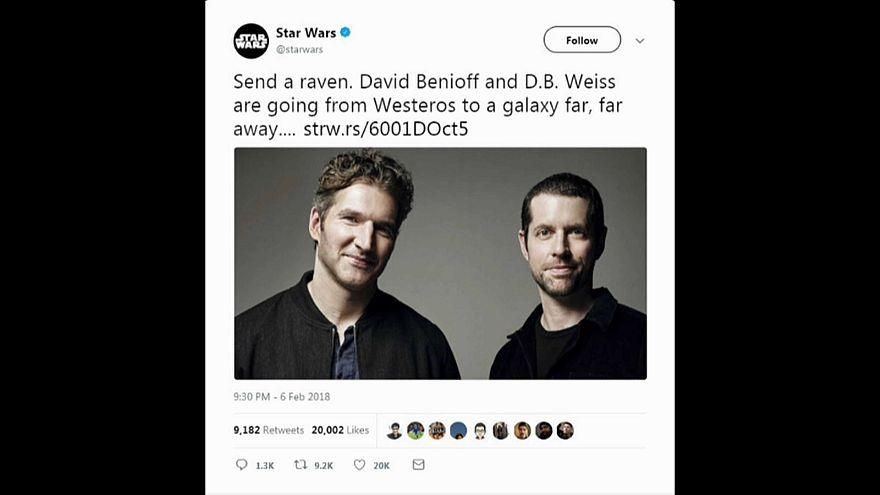 """Neue """"Star Wars""""-Trilogie von """"Game of Thrones""""-Schöpfern"""