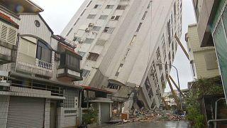 Tote und Verletzte nach Erdbeben in Taiwan
