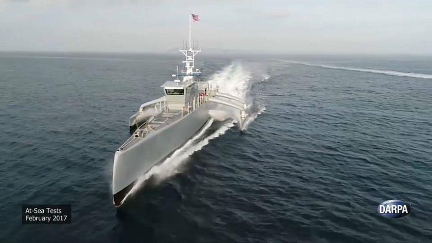 La Marina de EEUU ya tiene su dron anti submarinos