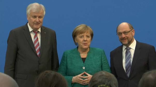 Coalition deal is reached in Germany