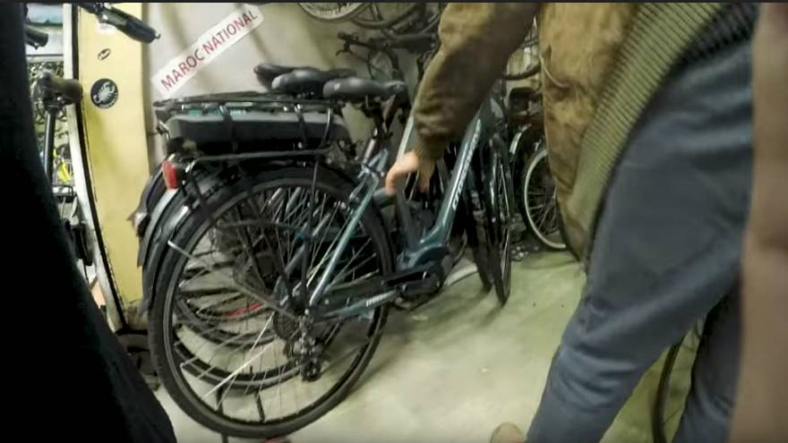 العثور على دراجة هوائية سرقت في باريس بمدينة الدار البيضاء