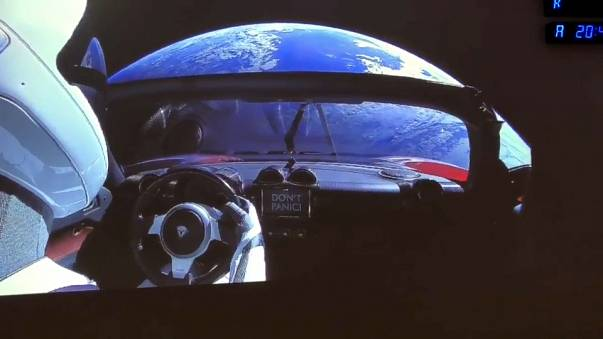 Elon Musk: The man who launched a car towards Mars