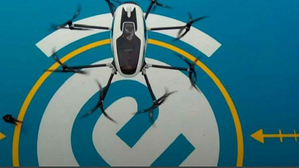 World's first passenger drone makes debut in China