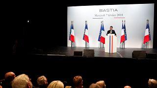 Corse : Macron favorable à une révision de la Constitution