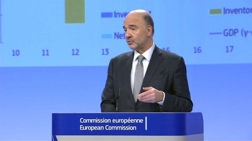 Bruselas eleva sus proyecciones de crecimiento para la UE y la eurozona
