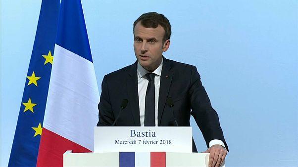 Macron: Nur der kleine Finger für Korsika