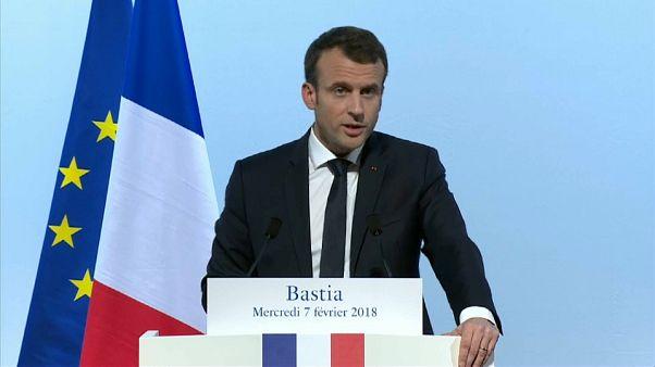 El estatus particular de Córcega podría entrar en la Constitución francesa