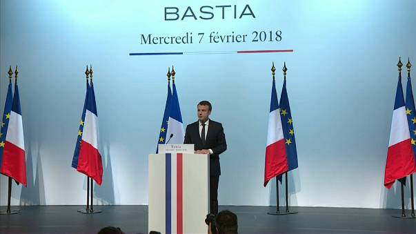 Corsica may feature in the French constitution