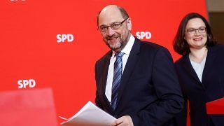 Lemond az SPD éléről Martin Schulz