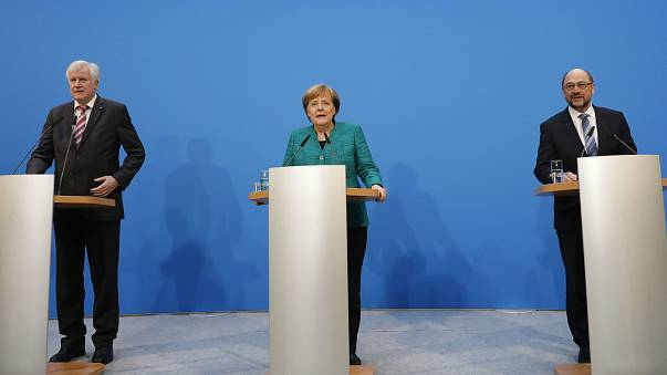 EU leaders welcome Germany's new coalition deal