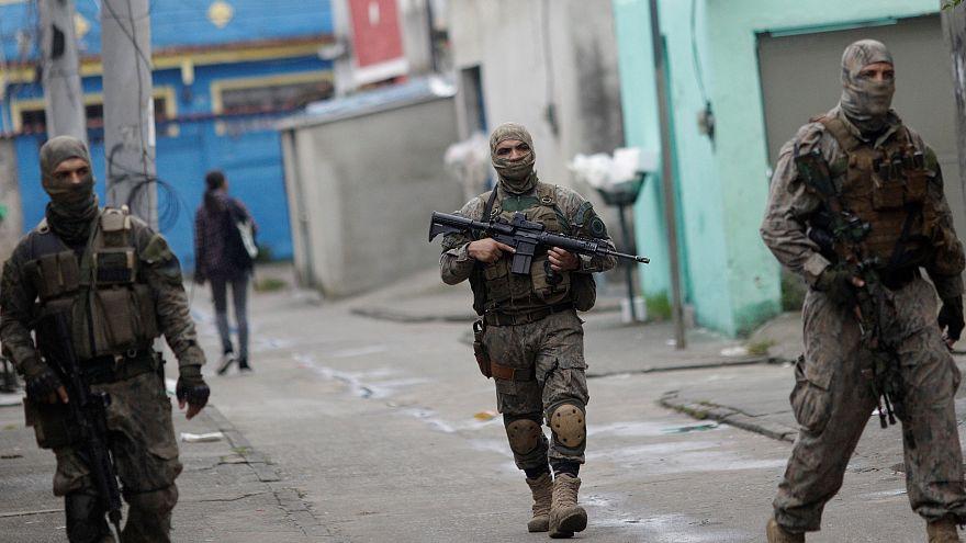 Rio de Janeiro in stato d'assedio