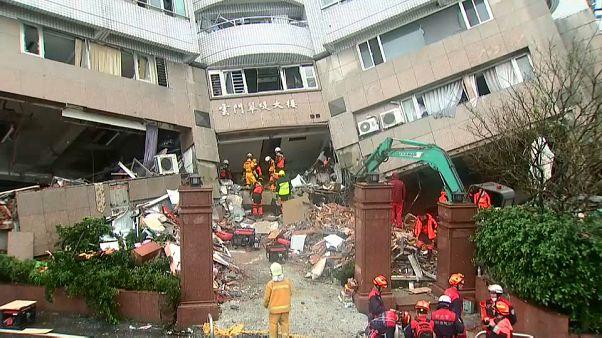Tayvan'da deprem: Ölü sayısı artıyor