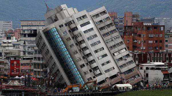 هزات أرضية ارتدادية تضرب تايوان