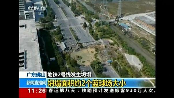 Titokzatos lyuk Kínában