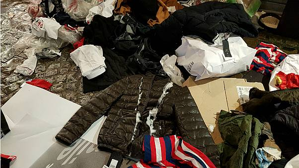 French store sparks outrage for tearing up, discarding unsold clothes
