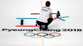 Mixed doubles curling is one of four new events at the Olympics