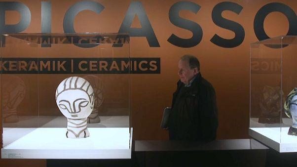 Picasso'nun seramik eserleri Kopenhag'da ziyaretçilerini ağırlıyor